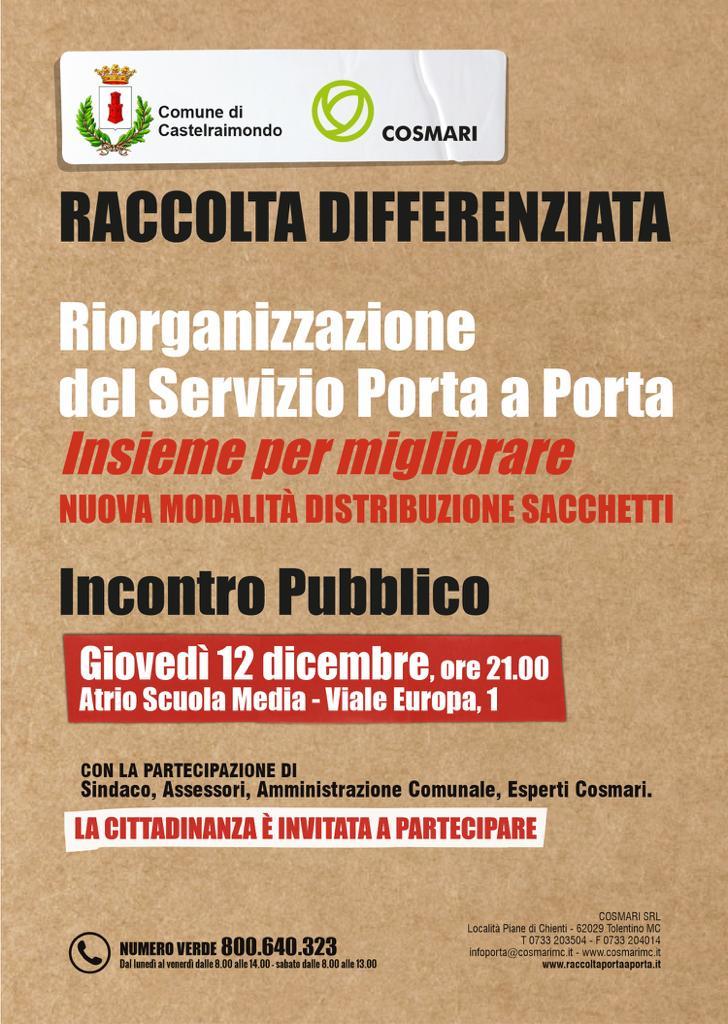 Locandina incontro 12 dicembre