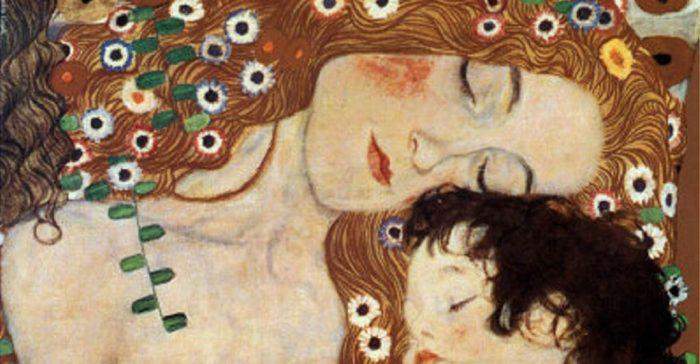 Madre bambino - Klimt